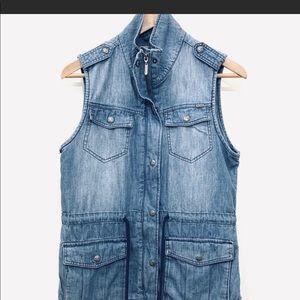 Max jeans denim vest